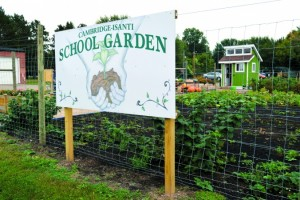 Cambridge Isanti School Giving Garden